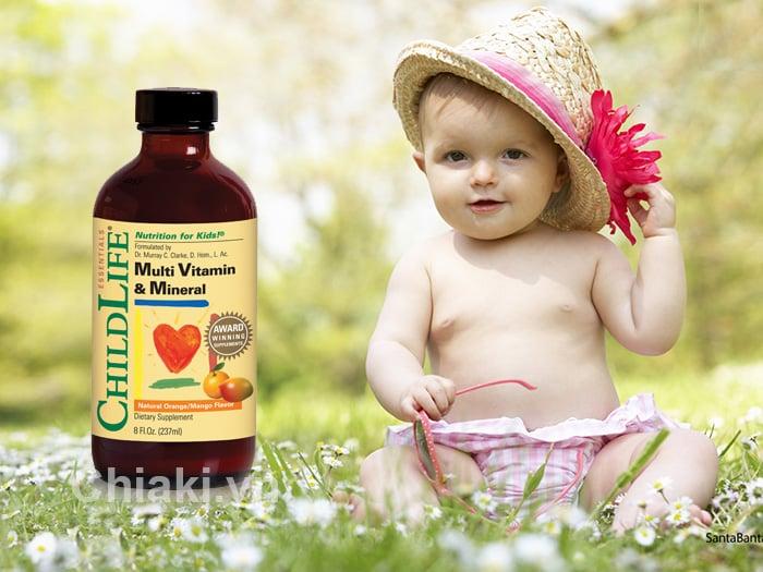Childlife multi vitamin & mineral chính hãng cho trẻ 6 tháng - 12 tuổi