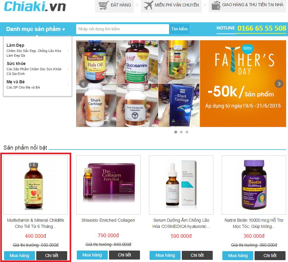 Làm thế nào để mua hàng/đặt hàng tại CHIAKI.VN 1
