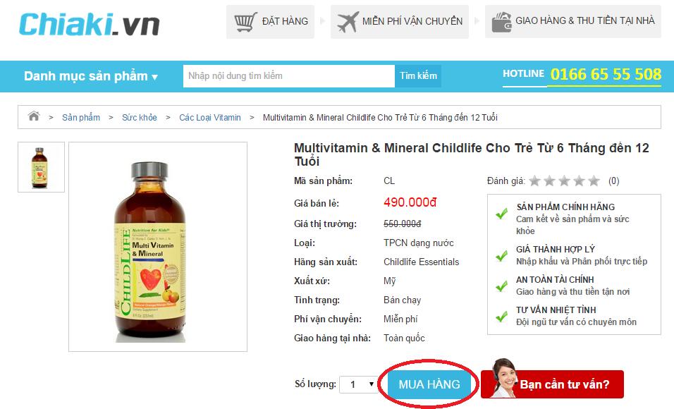 Làm thế nào để mua hàng/đặt hàng tại CHIAKI.VN 3