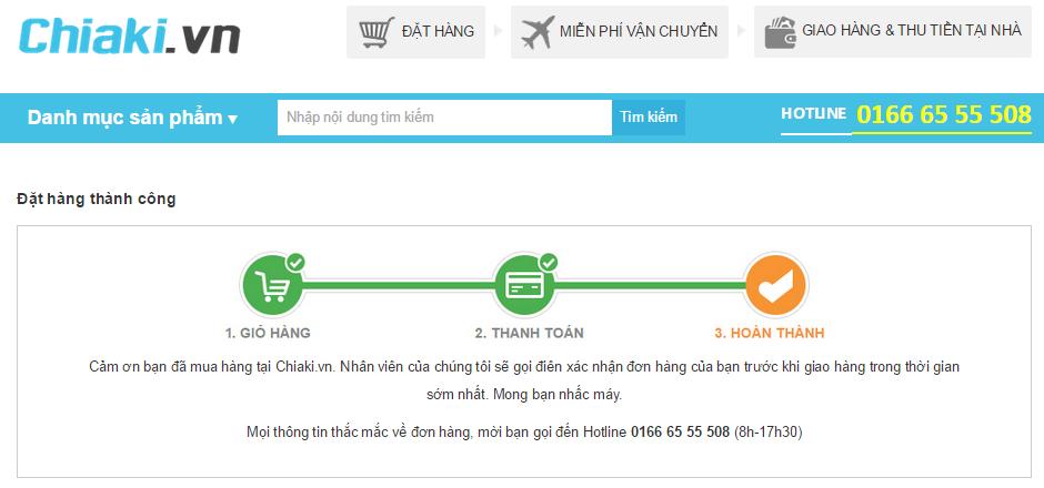 Làm thế nào để mua hàng/đặt hàng tại CHIAKI.VN 6