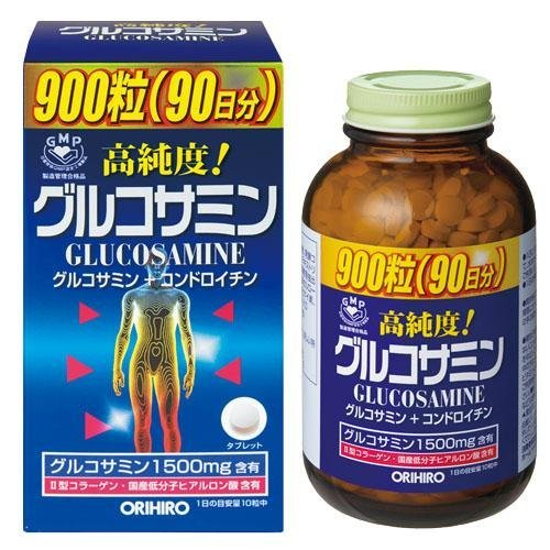 Glucosamine của Nhật - Glucosamine Orihiro 1500mg 900 viên