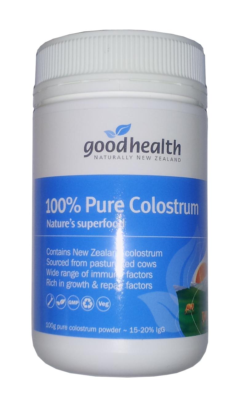 Goodhealth 100% Pure Colostrum - sữa non chất lượng nhất thế giới