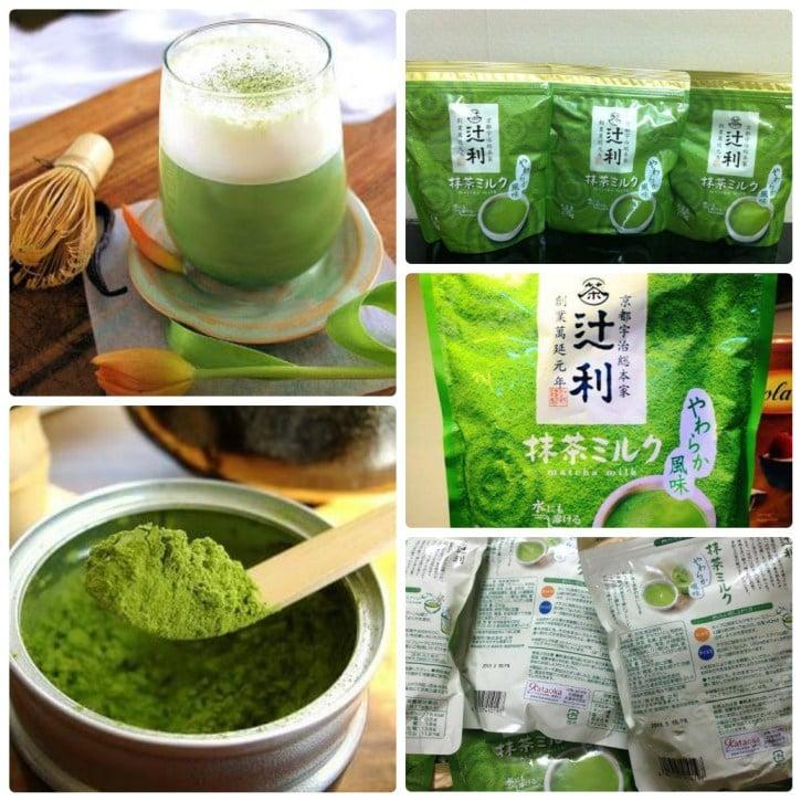 Sử dụng bột trà xanh Matcha như một thức uống_chiaki.vn