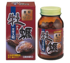 Tinh chất hàu tươi Orihiro - tăng số lượng và cải thiện chất lượng tinh trùng_chiaki.vn