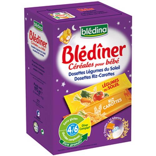 Bột ngũ cốc pha sữa Bledina 192g năng lượng khởi đầu cho bé