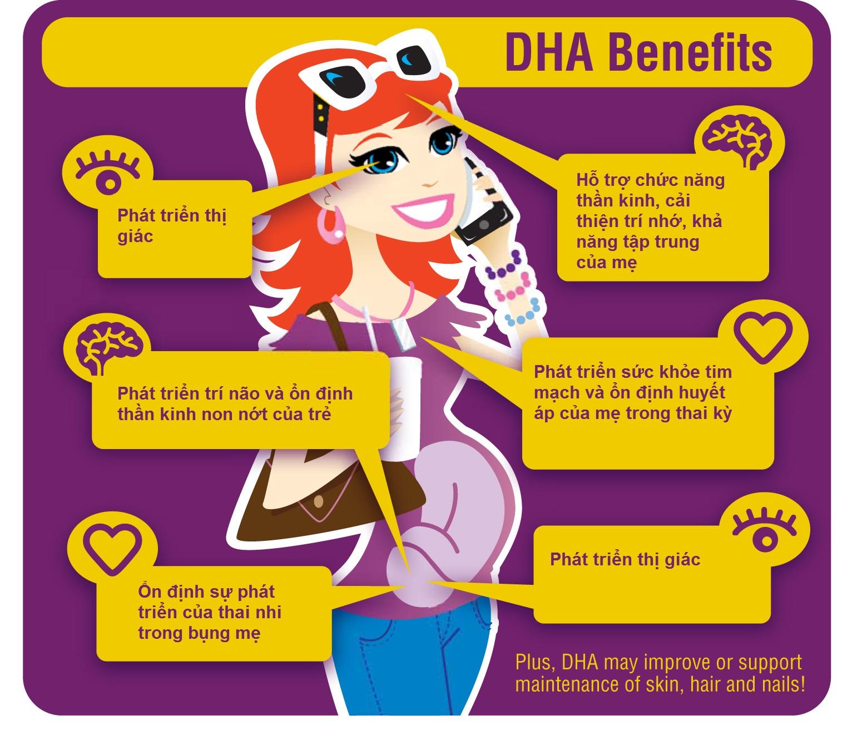 Bio island DHA cho bà bầu giúp thai nhi phát triển trí não tốt nhất