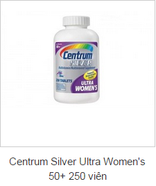 Centrum Silver Ultra Women's 50+ 250 viên