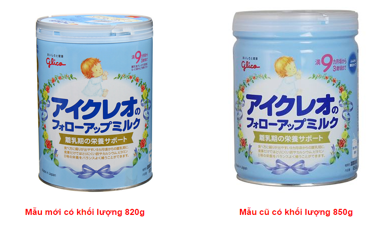 Sữa Glico Số 9 Nhật Bản Cho Trẻ 9m+