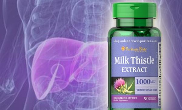 Thuốc Milk Thistle Extract 1000mg là lá chắn bảo vệ gan tốt nhất_chiaki.vn