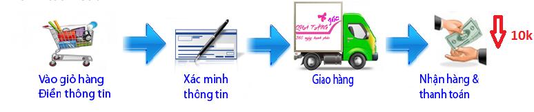 Hình thức thanh toán trực tuyến tại chiaki.vn