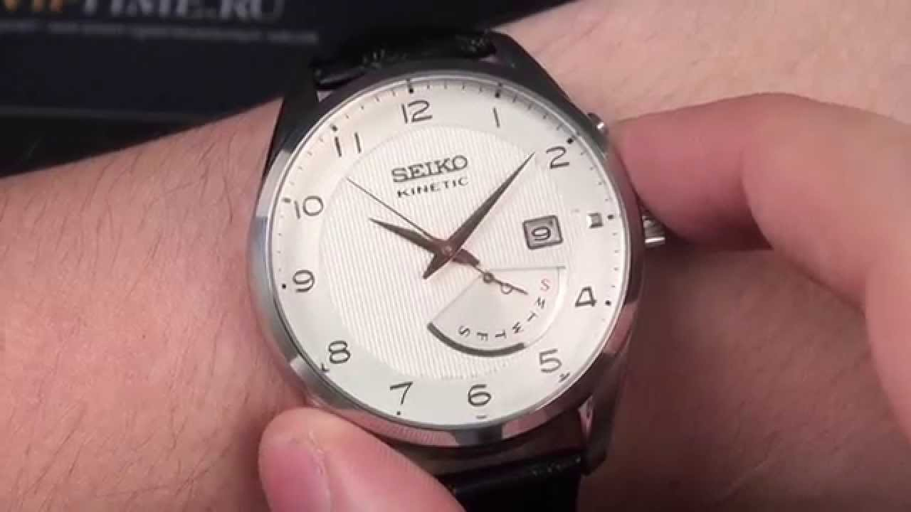 Đồng hồ Seiko Kinetic SRN049P1 chính xác từng giây