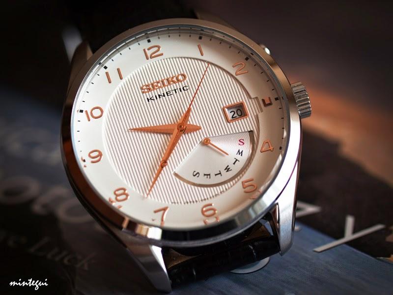 Đồng hồ Seiko Kinetic SRN049p1 - vẻ đẹp tinh tế