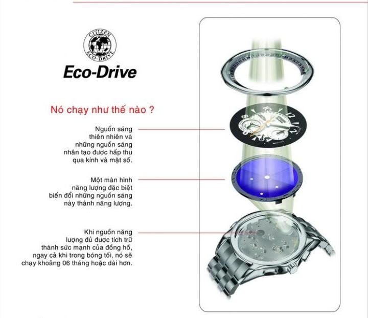 Đồng Hồ Citizen Nam Eco-drive AR1113-12A