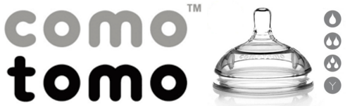 Núm bình Comotomo nhập khẩu nguyên set từ Mỹ