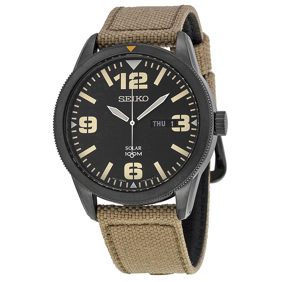 Không quá nhiều chức năng phức tạp như đồng hồ Chronograph, đồng hồ Seiko Solar SNE331 cung cấp các chức năng cơ bản giờ và ngày