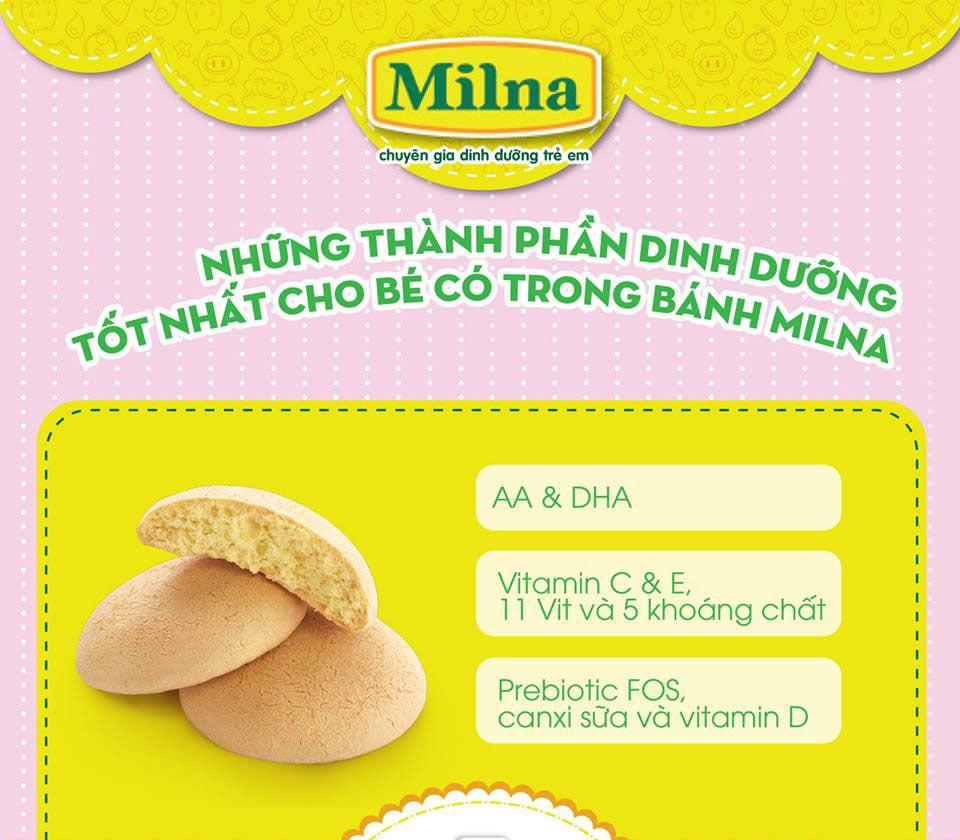 Bánh ăn dặm Milna
