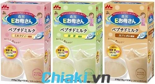 Sữa bầu Morinaga Nhật có 3 vị trà xanh, sữa, cà phê