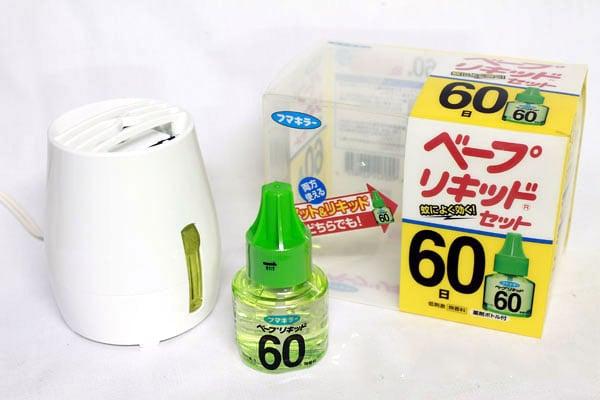 Máy đuổi muỗi Nhật an toàn cho bé yêu 2