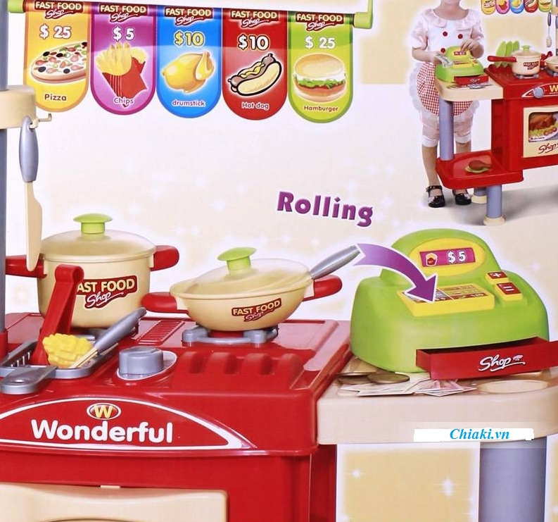 Đồ chơi nấu ăn cho bé 008-33 3