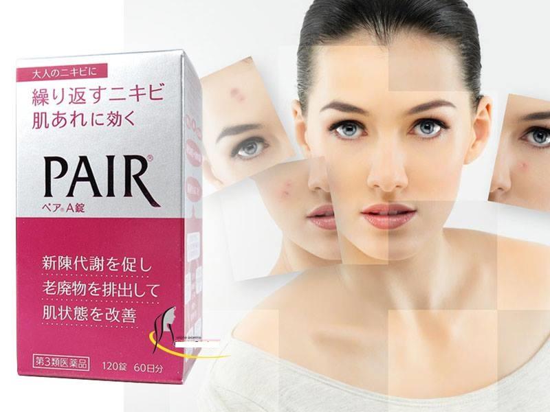 Pair A viên uống trị mụn hiệu quả của Nhật