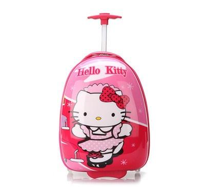 Vali kéo Hello Kitty màu sắc tươi sáng, kiểu dáng ngộ nghĩnh, họa tiết đáng yêu