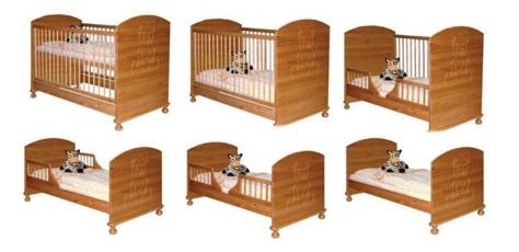 giường cũi cho bé Teddy 9 trong 1