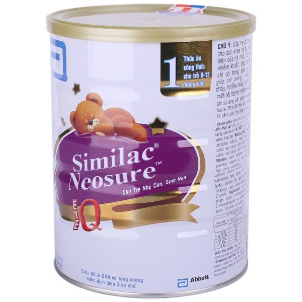 Sữa Similac Neosure IQ chính hãng, giá tốt của Mỹ