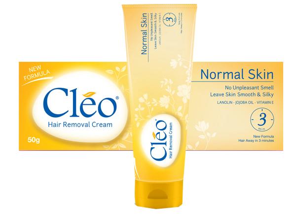 Kem tẩy lông Cleo dành cho da thường