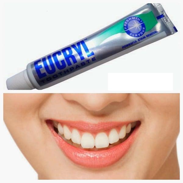 Kem đánh răng Eucryl toothpaste của Anh