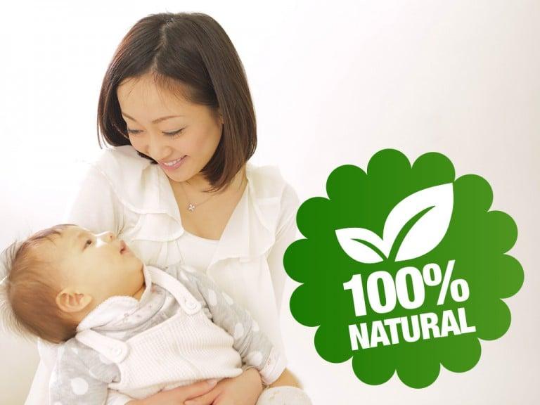 Nước rửa Arau có chứa 100% thành phần tự nhiên