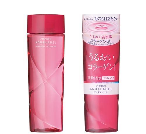 Nước Hoa Hồng Shiseido Aqualabel Đỏ Cho Da Thường, Khô