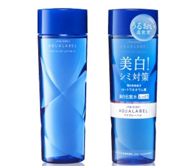 Nước hoa hồng Shiseido Aqualabel xanh dành riêng cho da nhờn và da hỗn hợp