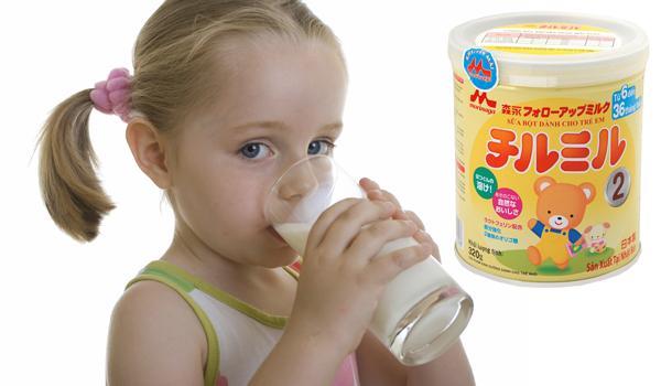 Sữa Morinaga số 2 tăng cường hệ miễn dịch