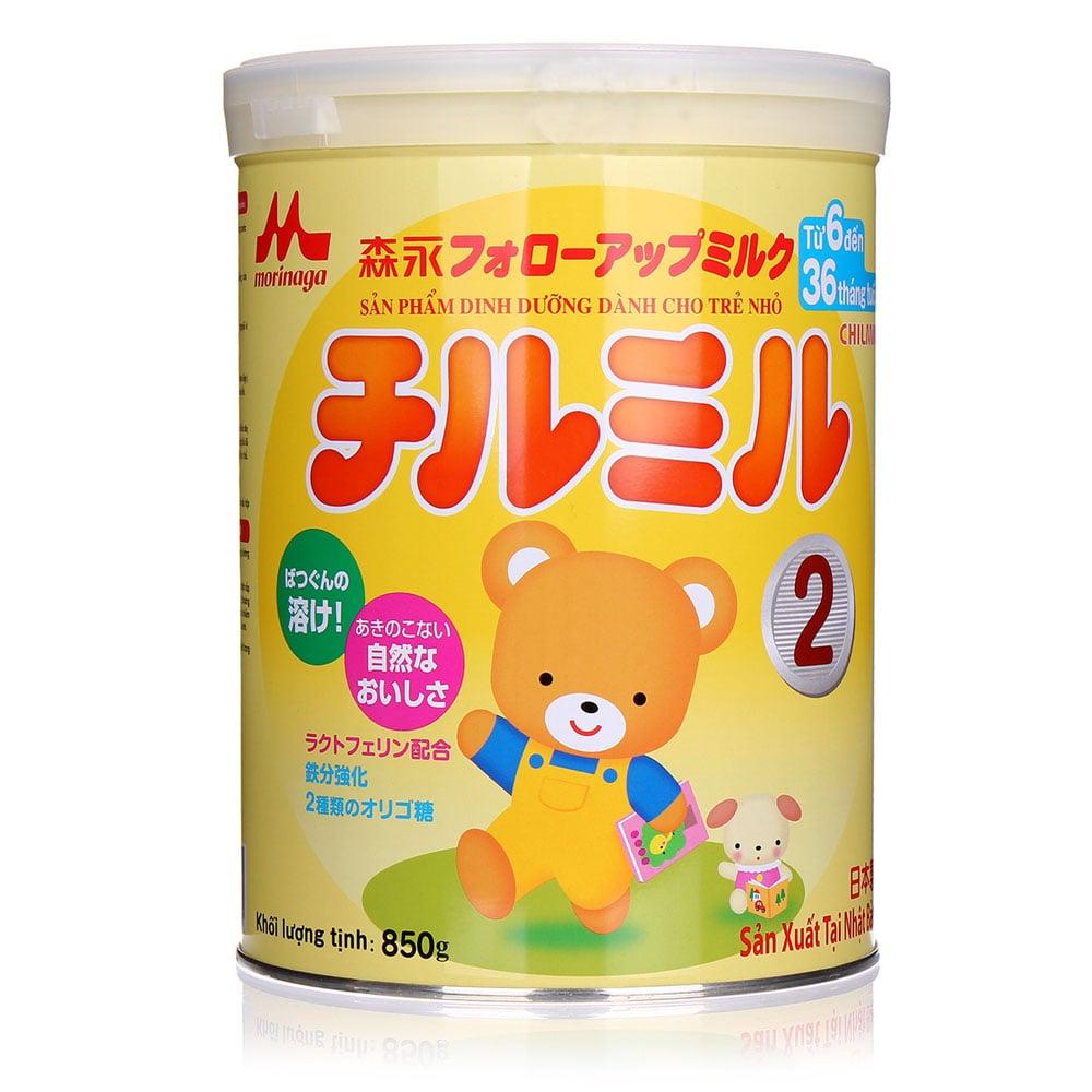 Sữa Morinaga số 2 hộp 850g