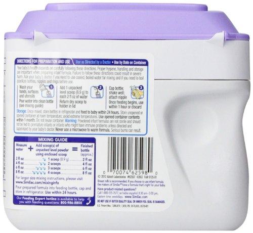 Sữa Similac Total Comfort chứa những dinh dưỡng thúc đẩy quá trình tăng trưởng của trẻ