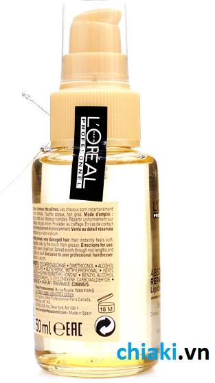 Tinh dầu serum phục hồi tóc hư tổn L'Oreal 50 ml 3 tác động 2