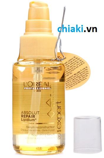 Tinh dầu serum phục hồi tóc hư tổn L'Oreal 50 ml 3 tác động 4