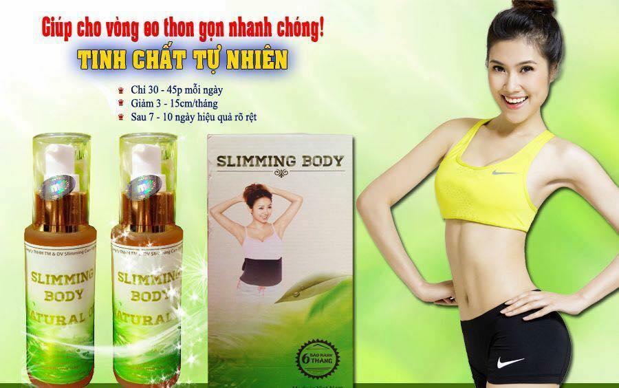tinh dầu tan mỡ slimming body natural oil
