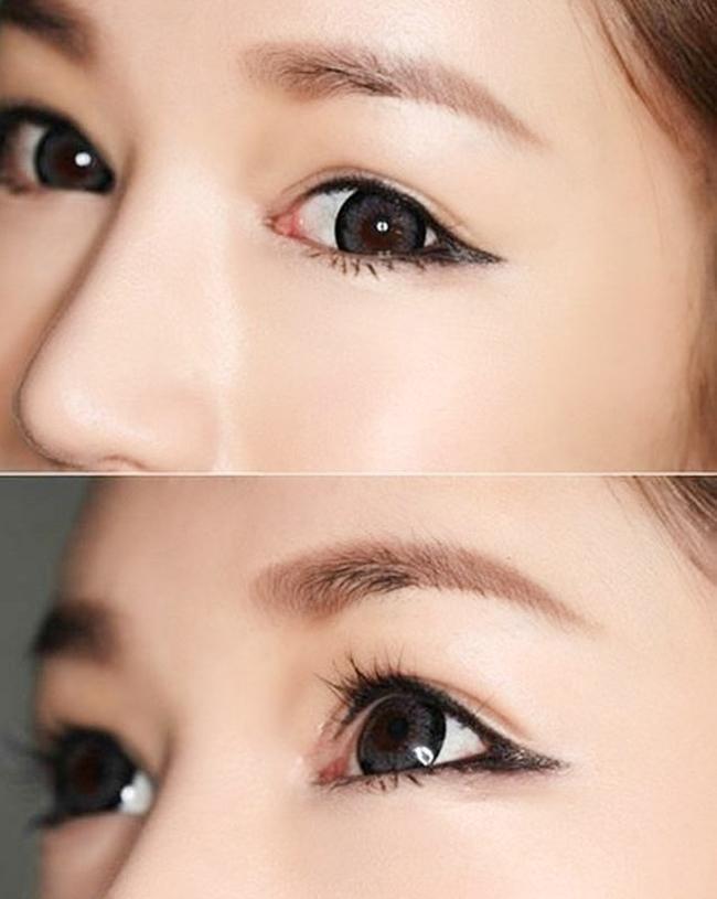 Chì kẻ mắt Eveline Eye Max Precision ở dạng kem với chất tạo màu tự nhiên cho đôi mắt lung linh