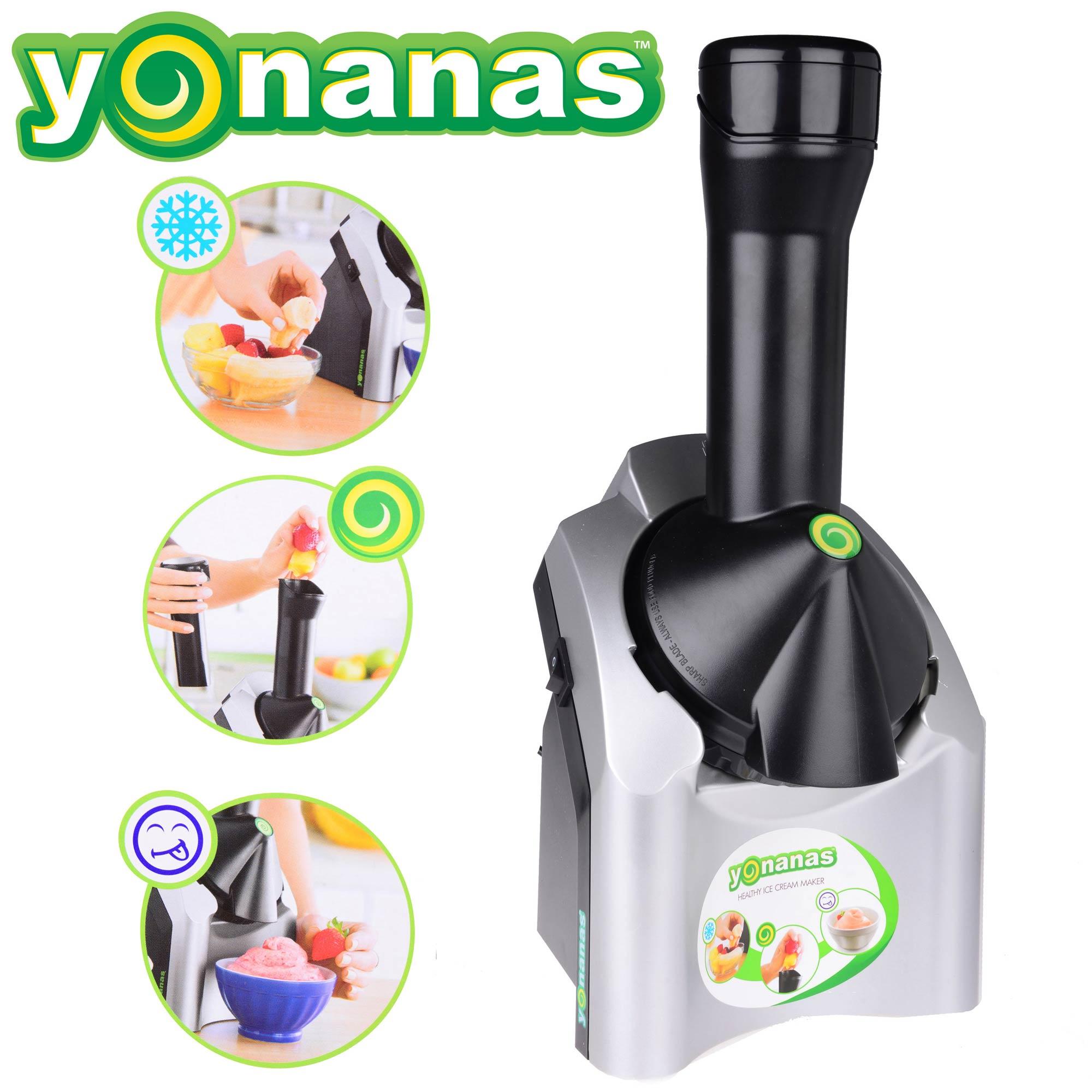 Máy làm kem trái cây Yonanas là 1 giải pháp an toàn, bảo đảm sức khỏe cho các thành viên trong gia đình