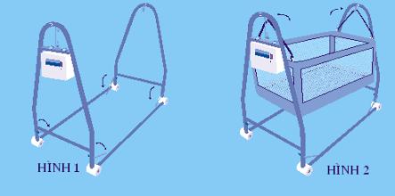 Phần khung bạn chỉ cẩn mở 2 đầu ra, chốt 4 góc lại