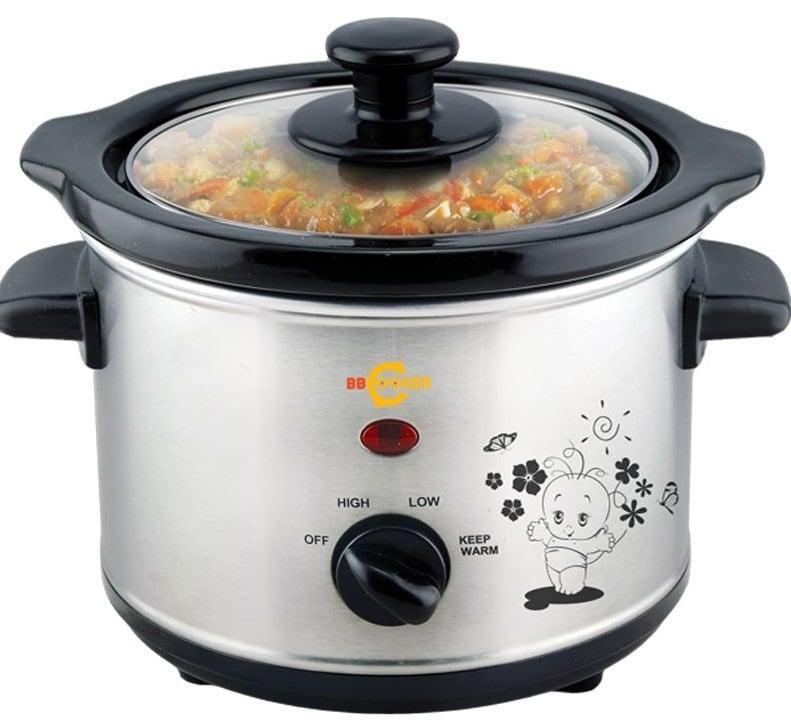 Nồi nấu cháo BBCooker của Hàn Quốc là loại nồi nấu cháo chậm