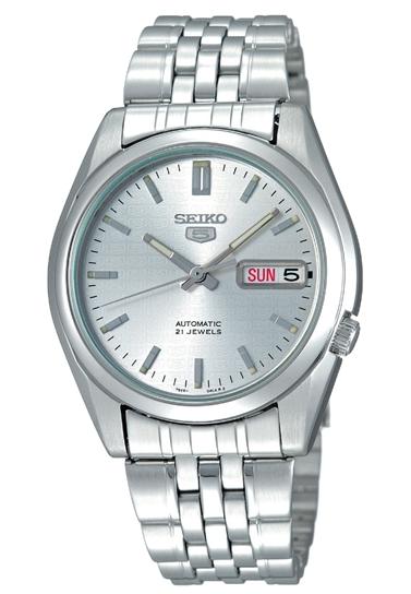 Đồng hồ Seiko 5 SNK355k1 lịch thiệp cho nam