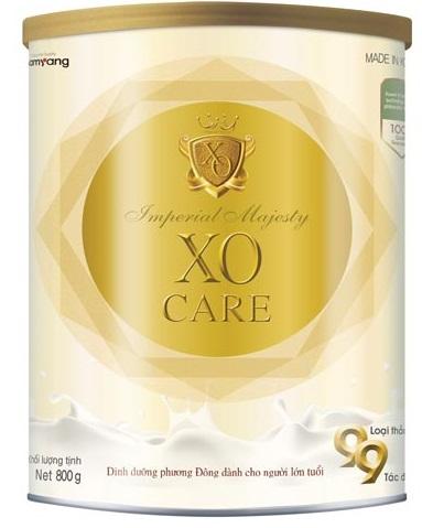 Sữa Imperial Majesty XO Care là sản phẩm sữa dành cho cho đối tượng thành niên