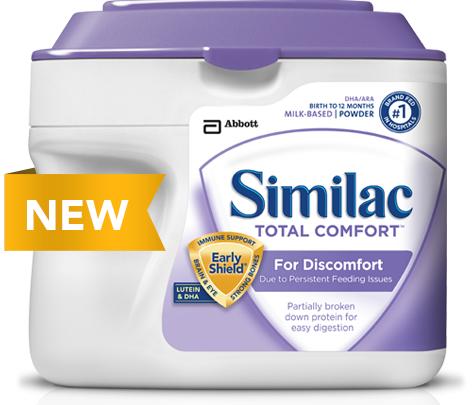 Sữa Similac Total Comfort (638g) dành cho bé 0-12 tháng tuổi
