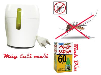 Cách sử dụng tinh dầu đuổi muỗi của Nhật Bản