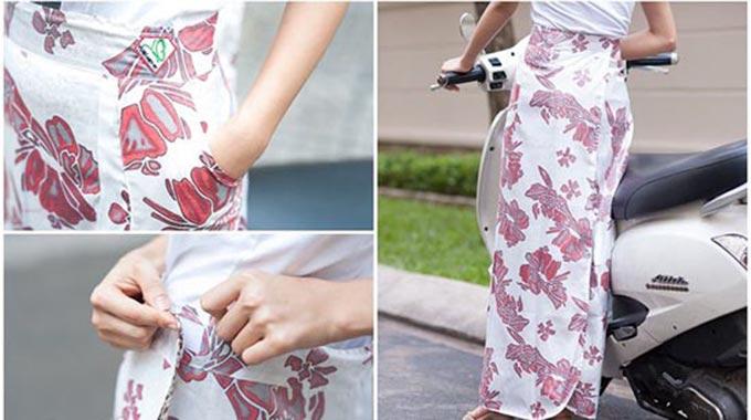 Váy chống nắng 2 lớp thời trang
