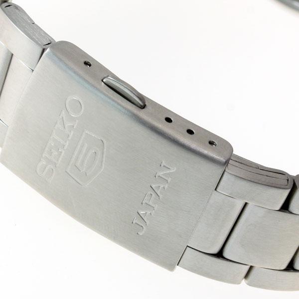 Seiko Automatic SNKD97JC - khóa bấm gập 3 nấc cổ điển, được in logo và xuất xứ sắc nét