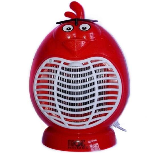 Đèn bắt muỗi bao gồm 1 đèn chuyên dụng, quạt hút và 1 tấm lưới phát điện