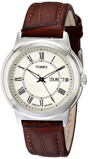 Đồng hồ Timex T2E581 dây da cực phong cách cho nam